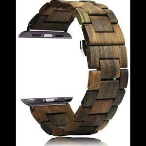 Apple Watch band 42/44mm Black Sandalwood New